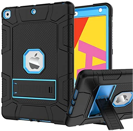 Rantice Case for iPad 7th 8th Generation iPad 10 2 Case Hybrid Shockproof Rugged Drop Protection product image