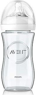 Philips Avent SCF053/17 - Biberón natural de cristal, 240