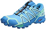 Salomon Femme Speedcross 4 GTX Chaussures de Trail Running, Imperméable, Aqua (Aquarius/Beach Glass/Hawaiian Surf), Taille: 37 1/3