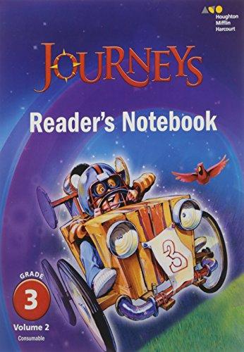 Journeys: Reader's Notebook Volume 2 Grade 3