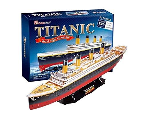 Cubic Fun- Puzzle 3D del Barco Titanic, 113 Piezas (771T4011)
