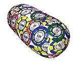 COVERBAGBCN Cojín antiestres Relax Relleno de Bolitas - Poker Club