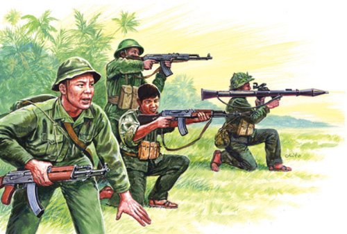 The Hobby Company Italeri 6079s – Vietnam War – Vietnamese Army/vietcong