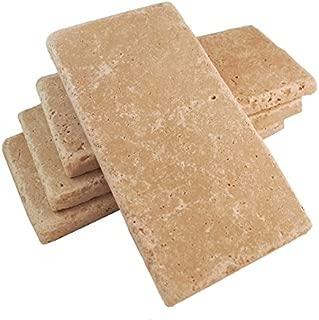 Walnut 3x6 Tumbled Tuscany Travertine Tile Walls Floors Backsplashes