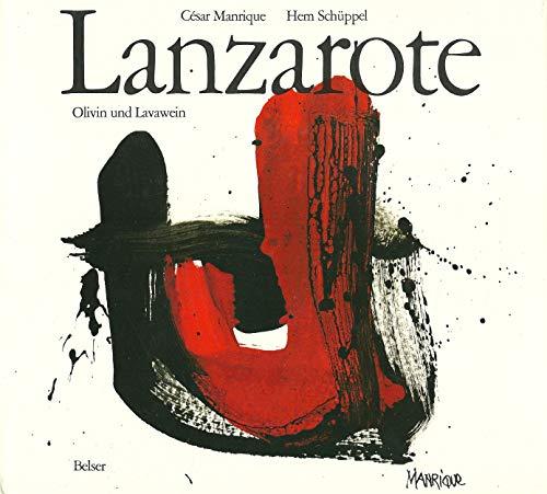 Lanzarote. Olivin und Lavawein