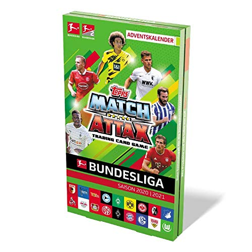 Topps Bundesliga Match Attax 20/21 - Mega Adventskalendar (240 Karten)