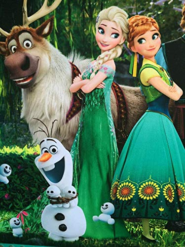 HBDHB Anime Jigsaw Puzzles Adults Wooden Puzzle Picture 1000 Pieces Child Teen Develop Imagination Jigsaws Toys Game - Snow Green Queen