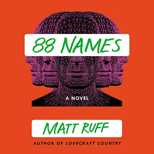 88 Names audiobook cover art
