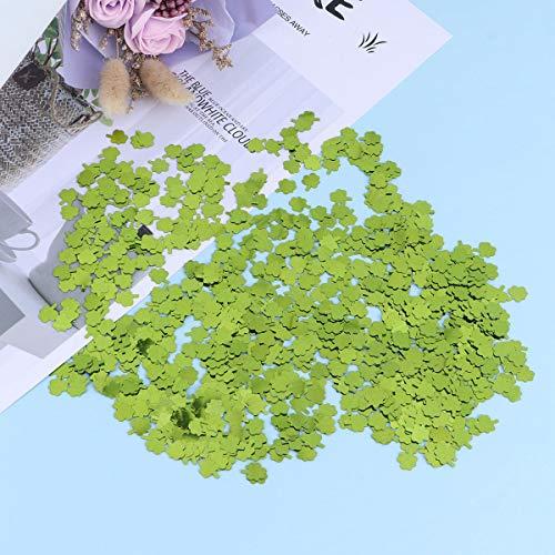 Amosfun Un paquet de papiers en couleurs adorable Saint Patrick jour vert clair petit feu d 'artifice fête anniversaire