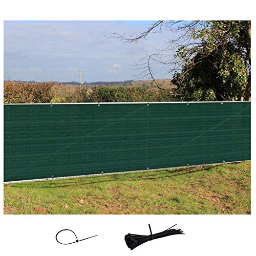 LJIANW Pantalla para Balcón HDPE Cubierta De Balcón, Protección UV A Prueba De La Intemperie, con Bridas For Cables For Jardín Cubierta Cerca, Protección De La Privacidad 7 Tamaños