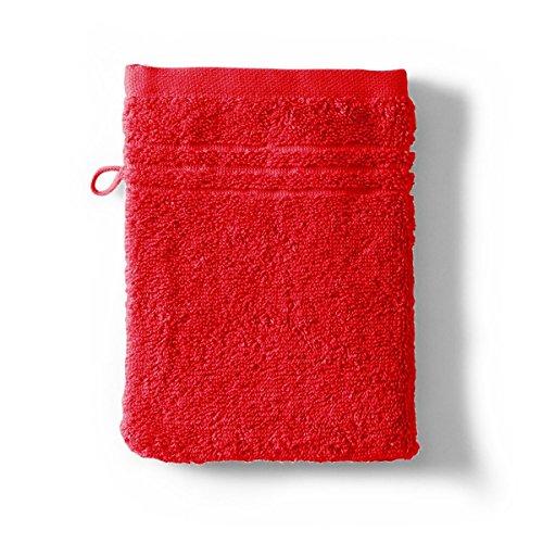 Tradition des Vosges Gant de Toilette Uni 550g 16 x 21 cm Rouge