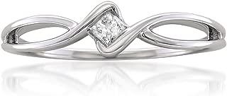 Best princess cut diamond promise ring 10k white gold Reviews