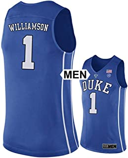 75c4b7fb9 Athletic Fan 2018 Duke Blue Devils Williamson NO 1 Mens College Basketball  Jersey