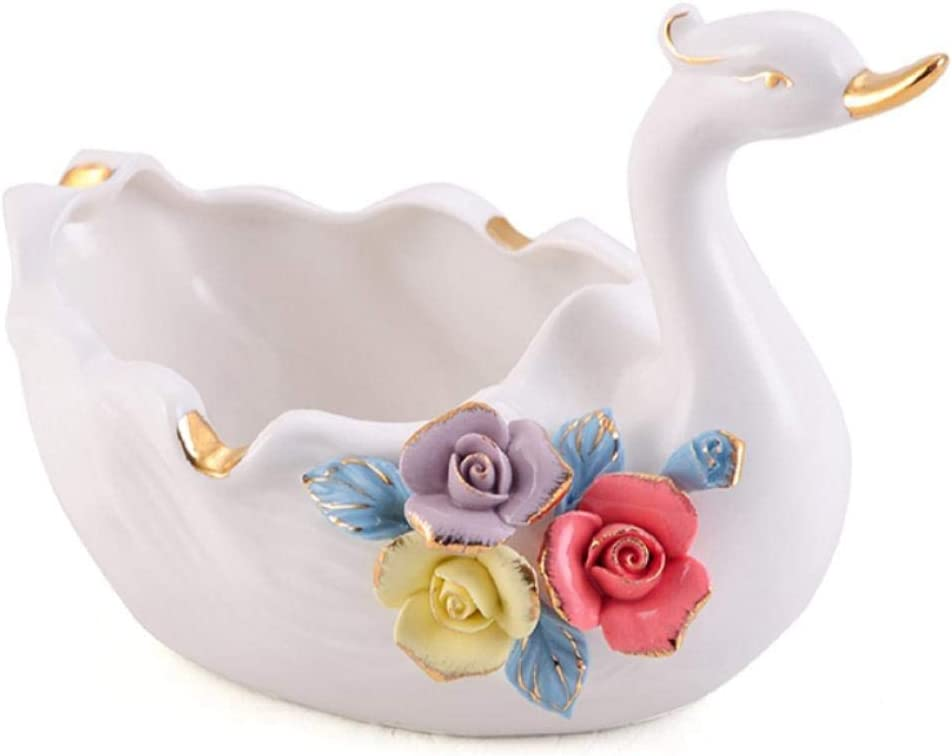 MZXUN Decorations Art Craft Clearance SALE Finally resale start Limited time Ceramic T Living Coffee Ashtray Room