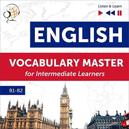 English Vocabulary Master for Intermediate Learners  By  cover art