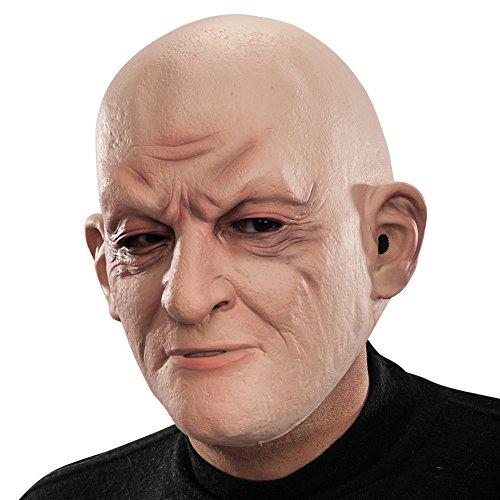 Carnival Toys - Máscara de látex calvo con encabezado,