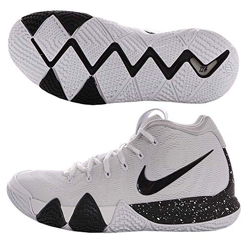 Nike Kyrie 4 Mens Basketball Shoes White/Black 12 M US