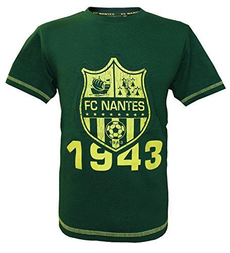 FC NANTES T-Shirt Collection Officielle FCNA - Taille Enfant garçon 8 Ans