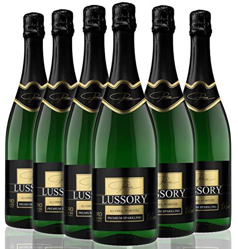 Lussory Brut vino sin alcohol espumoso caja de 6 ud