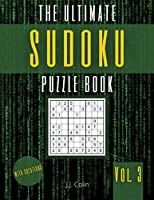 The Ultimate Sudoku Puzzle Book - Large Print: 100 Easy and Medium Sudoku 9x9 Puzzles Grids - Brain Games with Solutions for Kids and Adults