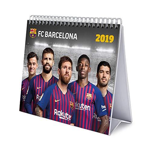 Grupo Erik Editores CS19021 tafelkalender 2019 FC Barcelona, 17 x 20 cm