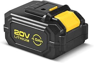 Voltaga 20V リチウムイオン電池 4.0Ah VOL-2A6002 VOL-4A6002 VOL2.0-13811に対応 LED電池残量表示灯付き Voltagaの電動工具用交換用バッテリー 【一年保証】