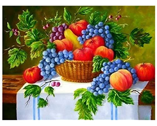 DQ7W5AF Großes Dult-Puzzle 1000 Stück Obsttraubentisch Tischdecke Heimdekoration Herausforderungsspiel