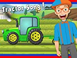 Tractor Song by Blippi - Tractors for Kids