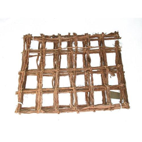Terra Exotica Mammutgeflecht Natur 50 x 40 cm - Kletternetz für Chamäleons - Inhalt 0,2 qm/Grundpreis 19,50 €/qm