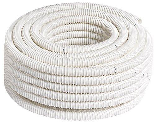 Tubo corrugato per scarico condensa da 16 mm x 25 mt