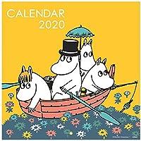 学研ステイフル ムーミン 2020年 カレンダー 壁掛け スクエア CM12088