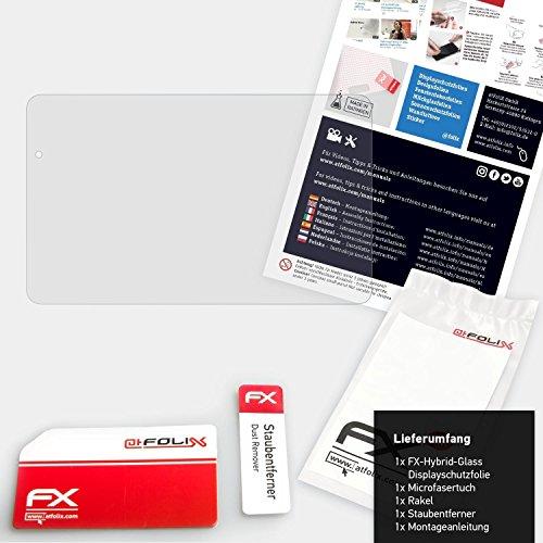 atFolix Glasfolie kompatibel mit Huawei MediaPad T2 10.0 Pro Panzerfolie, 9H Hybrid-Glass FX Schutzpanzer Folie - 2