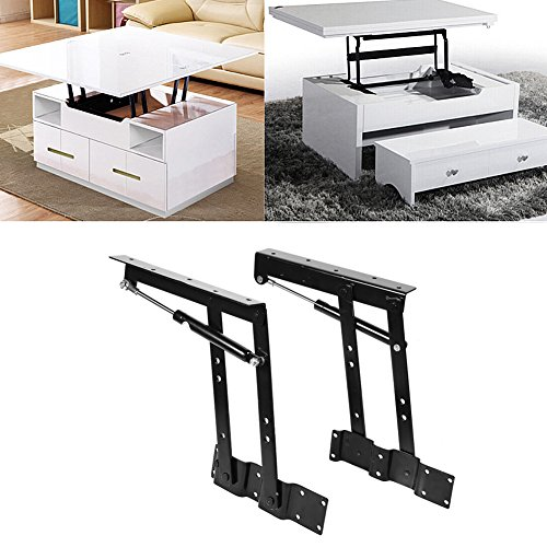 Eleva la bisagra hidráulica, el marco de la mesa plegable, para el mecanismo de elevación de muebles para el salón o la mesa de centro de hardware.