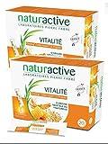 Naturactive Stick Fluide VitaLite – Jalea real Propolis Ginseng – Lote de 2 cajas de 20 sitios (2 x 20)