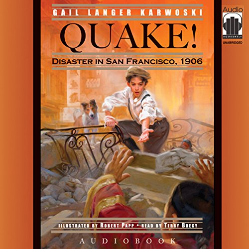 Quake! audiobook cover art