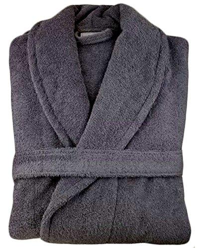 Albornoz unisex de algodón egipcio de 500 g/m² para hombre y mujer, con capucha