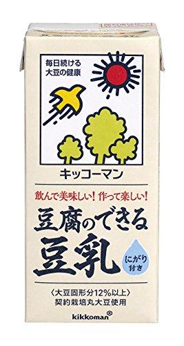 キッコーマン飲料 豆腐のできる豆乳 1L×6本