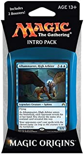 Magic the Gathering: MTG Magic Origins: Intro Pack / Theme Deck: Alhammarret, High Arbiter (includes 2 Booster Packs &