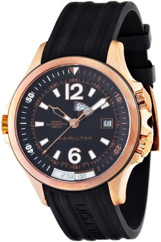 Hamilton Herrenarmbanduhr Hamilton Khaki Navy GMT H77545735