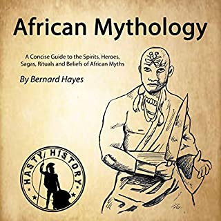 African Mythology audiobook cover art