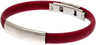 Official Licensed West Ham United F.C - Colour Silicone Bracelet