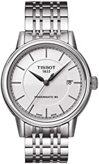 Tissot Mens Automatic Watch, Analog Display and Stainless Steel Strap T085.407.11.011.00