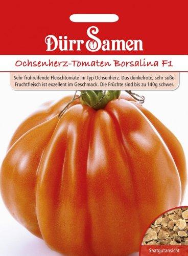 Dürr Samen 1971 Ochsenherztomate Borsalina F1 (Ochsenherztomatensamen)