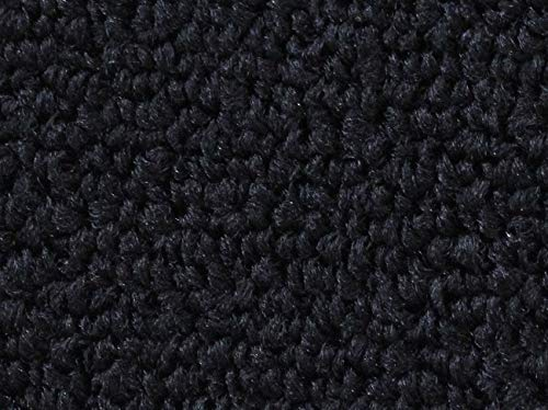 """AFF Black Nylon Loop Automotive Carpet - 40"""" Wide - Latex Backed - by The Yard"""