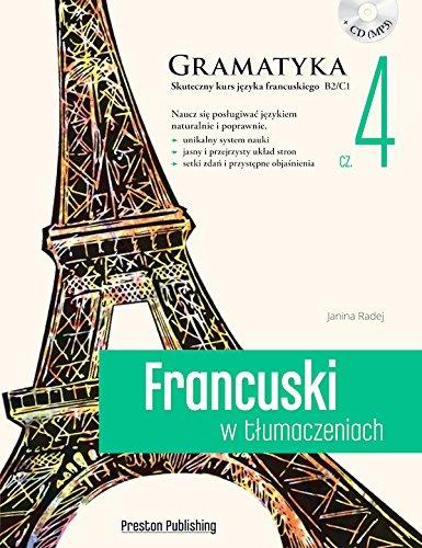 Francuski w tlumaczeniach. Gramatyka cz. 4
