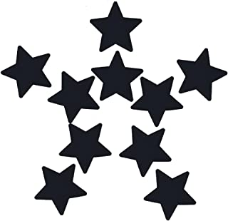 5 Pairs Stars Breast Petals Multi Colors Nipple Cover Disposable Satin Pasties