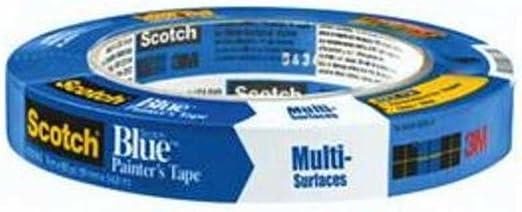 3m Scotch Blue 2090 Krepppapier Für Verschiedene Oberflächen 12 2 Kg Zugfestigkeit 60 M Länge X 1 9 Cm Breite Blau Gewerbe Industrie Wissenschaft