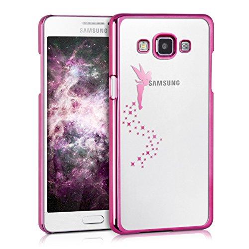 kwmobile Carcasa Compatible con Samsung Galaxy A5 (2015) - Funda de TPU Hada en Rosa...