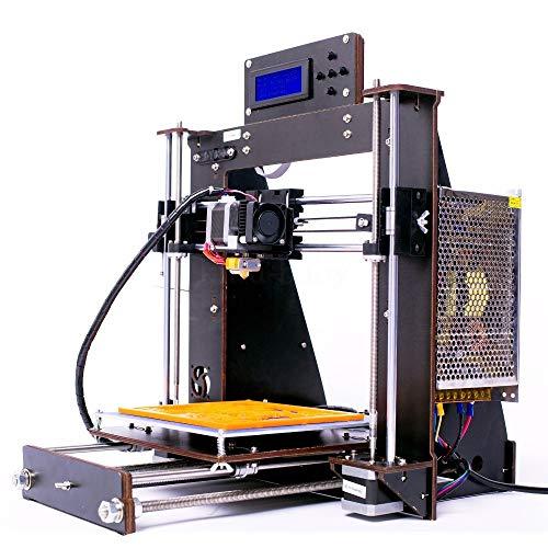 RUFFO Printer, 3D Printer Upgraded Full Quality High Precision Reprap Prusa I3 DIY LCD Controll UK USA Stock