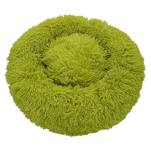 Tivivose Super Soft Dog Bed Sofa Plush Cat Mat Dog Beds For Labradors Large Dogs Bed House Pet Round Cushion Best Dropshipping (Color : As pic5, Size : 80cm)